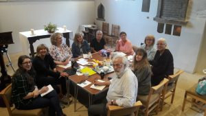 170616 Friday Writers Group with writer in residence Cathy Grindrod